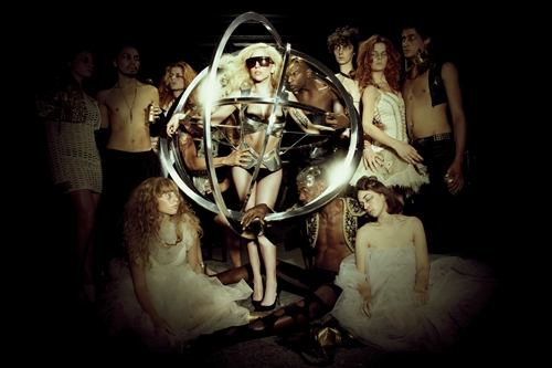 Lady Gaga Tour Promotion