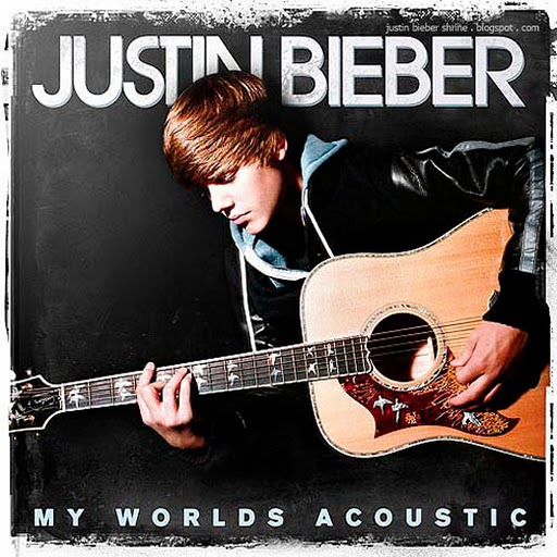 justin bieber my world acoustic album. Justin Bieber has revealed the