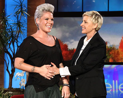 Pink has confirmed reports of her pregnancy, appearing on the Ellen
