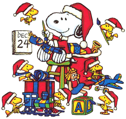 its here - Snoopy Christmas Song