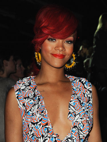 rihanna red hair 2011 what. Rihanna is set to appear as the cover girl of one of the most respected