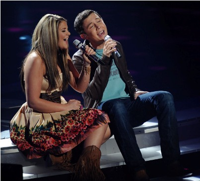 American Idol 10 - Lauren Alaina, Scotty McCreery